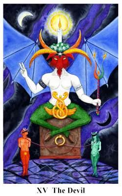 Arto tarot carte: le diable