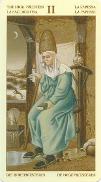 Bruegel Tarot: carte la papesse