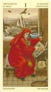 Bruegel Tarot: carte le bateleur