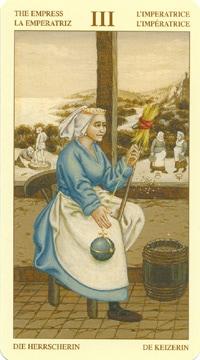 Bruegel Tarot: carte l'impératrice
