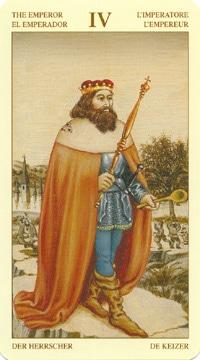 Bruegel Tarot: carte l'empereur