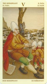 Bruegel Tarot: carte le pape