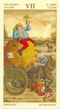 Bruegel Tarot: carte le chariot