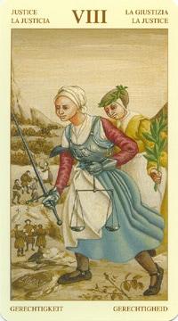 Bruegel Tarot: carte la justice