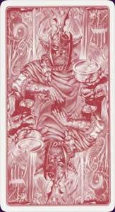 Celtic tarot carte : le dos des cartes