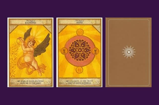 Présentation Les anges : Cartes oracles