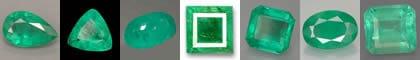 La pierre de naissance: l'Emeraude Verte