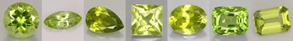 La pierre de naissance: le Péridot