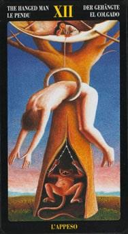 Le tarot Bosch: carte le pendu