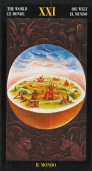 Le tarot Bosch: carte le monde