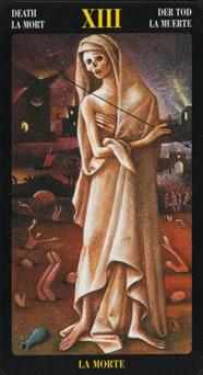 Le tarot Bosch: carte la mort