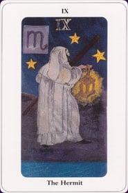 Le tarot de la destinée: carte l'ermite