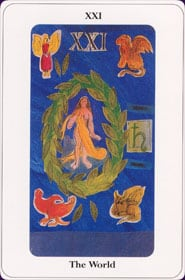 Le tarot de la destinée: carte la roue de la fortune