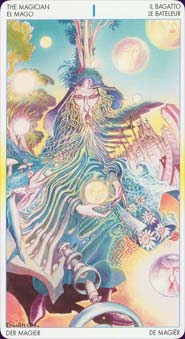 Tarot of metamorphosis: carte le bateleur