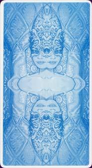 Tarot of metamorphosis: dos des cartes