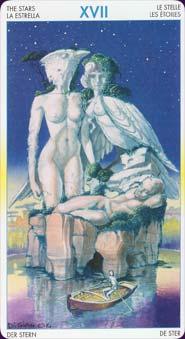 Tarot of metamorphosis: carte étoile