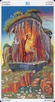 Tarot of metamorphosis: carte la force