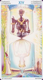 Tarot of metamorphosis: carte la tempérance