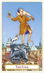 Tarot of Prague: carte le fou