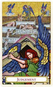 Tarot of Prague: carte le jugement