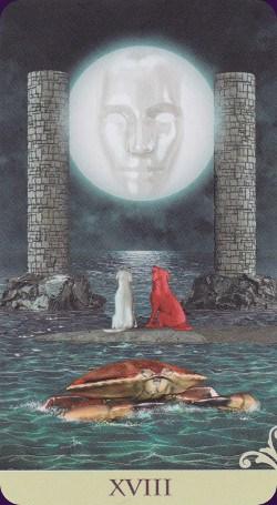Le vice-versa tarot: carte la lune