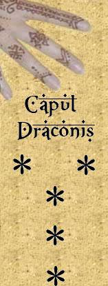 Figure Caput Draconis en géomancie sens et interprétations