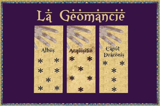 La géomancie initiation et interprétations