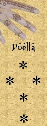 Figure Puella en géomancie sens et interprétations