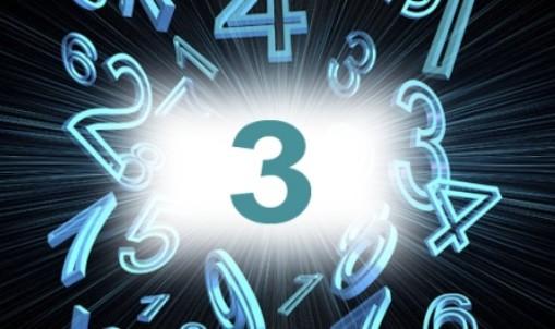 Numérologie nombre 3 signification: