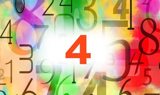 Numérologie nombre 4 signification: