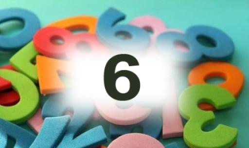 Numérologie nombre 6 signification: