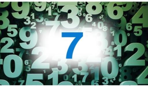 Numérologie nombre 7