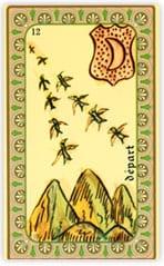 Oracle de Belline: la carte Départ