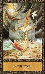 Tarot des anciens égyptiens - Carte le fou