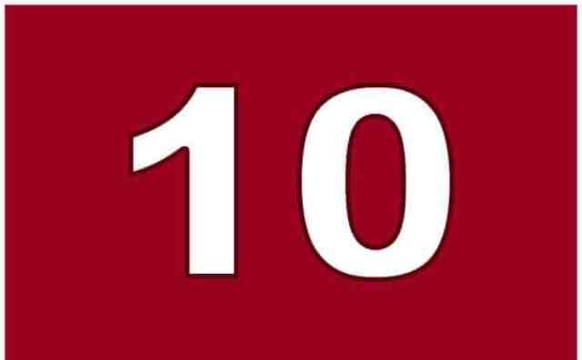 Pourquoi rêver du numéro 10