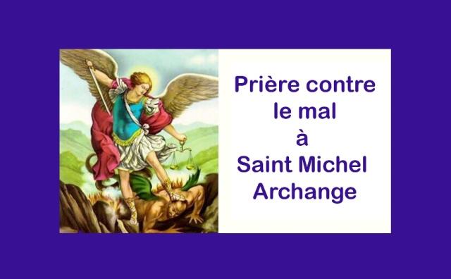 St Michel Archange : la prière de protection contre le mal
