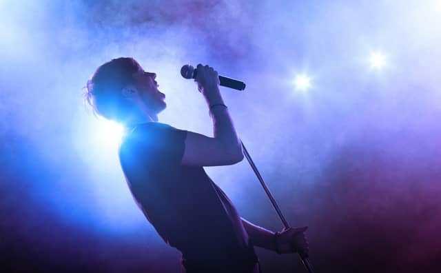 rêver de chanteur