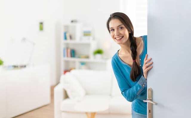 rêver de visiter une maison