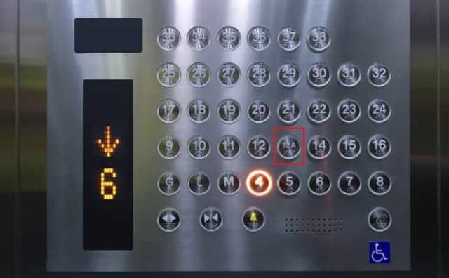 Ascenseur et superstitions