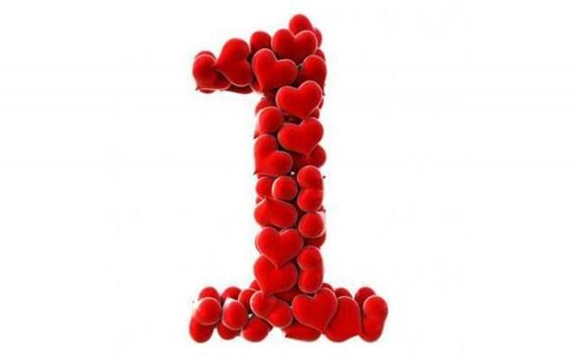 Numérologie et le chiffre 1 en amour