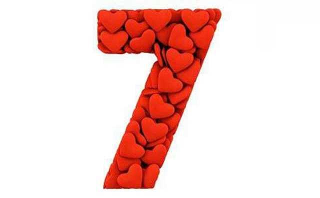 Numérologie et le chiffre 7 en amour
