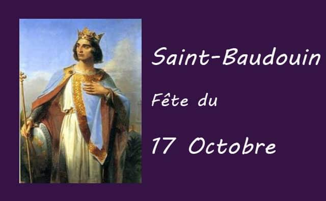 17 octobre : Saint Baudouin