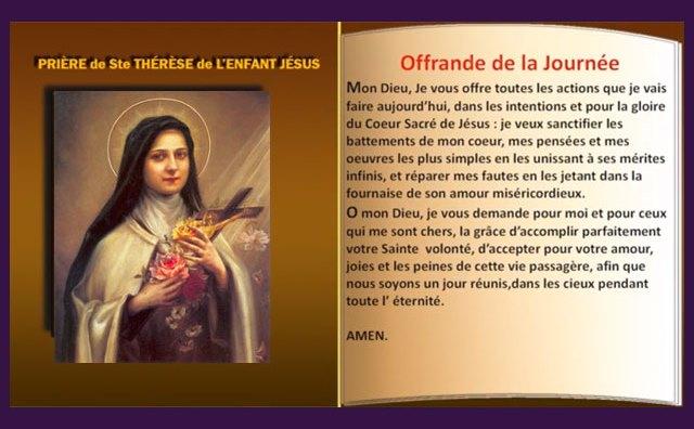 Neuvaine miraculeuse à Sainte-Thérèse de Lisieux