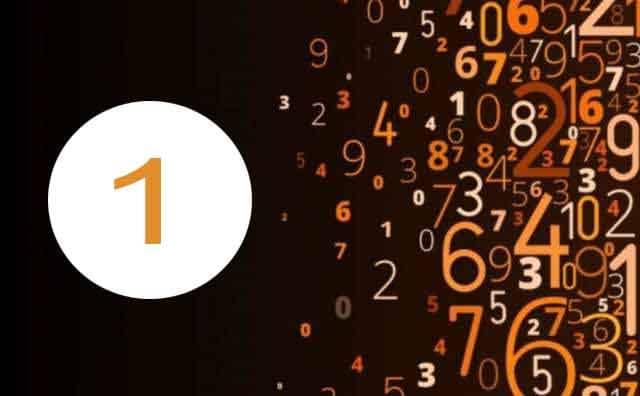 Numérologie du travail et le chiffre 1