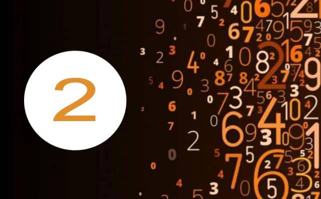 Numérologie du travail et le chiffre 2