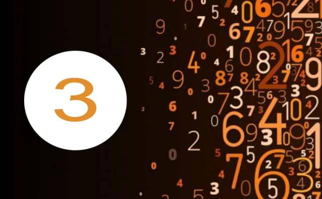 Numérologie du travail et le chiffre 3