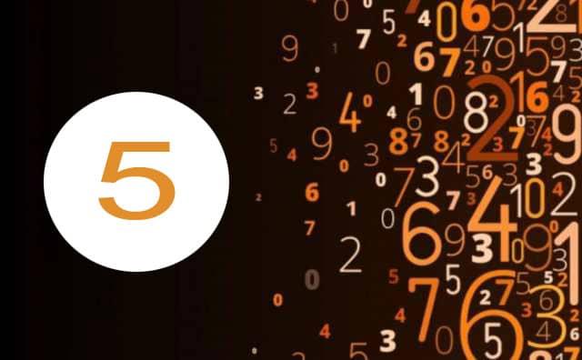Numérologie du travail et le chiffre 5