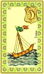 Oracle de Belline : la carte l'eau